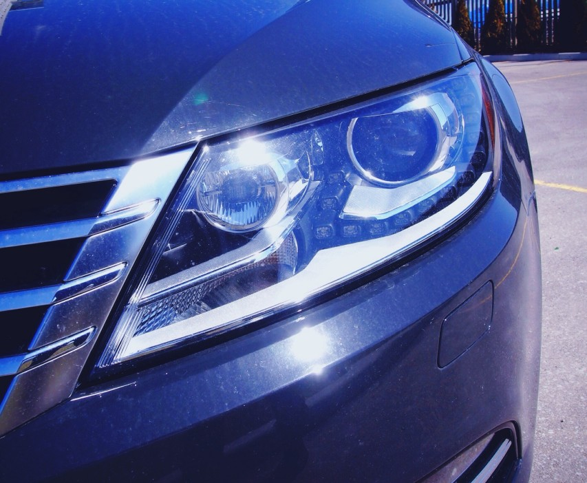vw passat xenon headlights