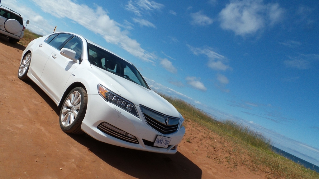 The High Tech Road Trip in the 2015 Acura RLX