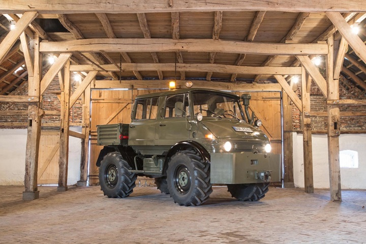 Luftwaffe Mercedes-Benz Unimog
