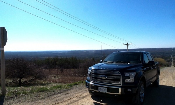 Taking the New Ford F-150 Limited Into the Countryside
