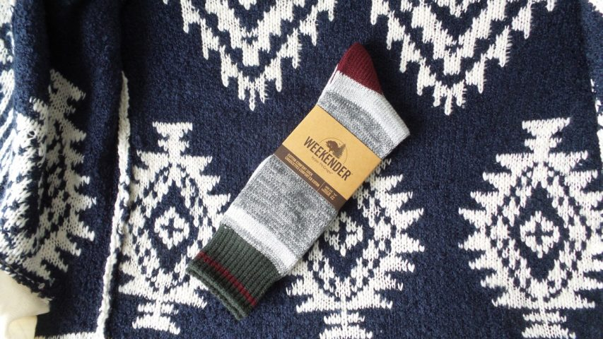 McGregor Weekender Red and Green Cotton Comfort Socks