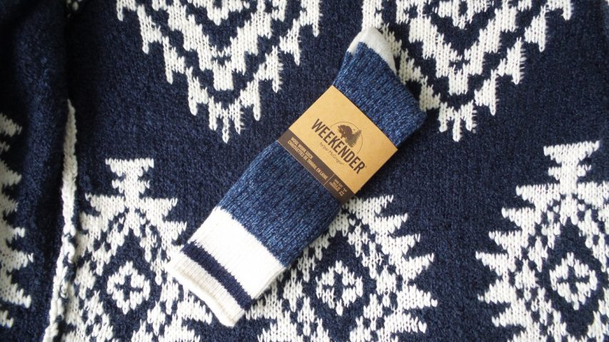 McGregor Weekender Blue Wool Work Socks