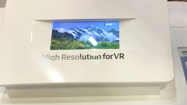Samsung's next smartphone display was designed for VR